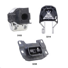 Rear Engine Mount, Front Engine Mount & Trans Mount Set 3PCS for Ford Focus 2.0L