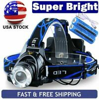 SuperBright  LED 90000Lumens Headlamp Headlight Flashlight  Head Torch  Camp US