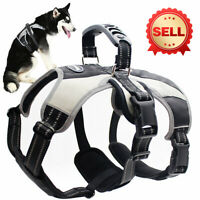 No Pull Adjuetable Dog Harness For Medium Large Dog Escape-Proof Reflective Vest