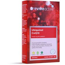Revive Active Ubiquinol CoQ10 100mg 30 Capsules Best Before End:02/2020