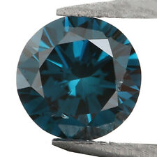 0.22 Ct Natural Loose Diamond Round Blue Color VS1 Clarity 4.00 MM KR2031