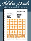 Wurlitzer 1983  Caravelle, Barcarole, Fuego, Cabarina, Tarock, Hideaway Manual