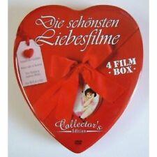 Die schönsten Liebesfilme - Herzbox 4 Filme DVD/NEU/OVP