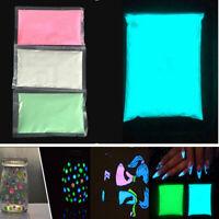 50g Bright Fluorescent Glow-in-the-Dark Powder Glow Pigment Paint Craft DIY Kit