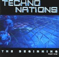Techno Nations 1-The Beginning (1993) Hard Attack, Defcon Situation 1, Ba.. [CD]