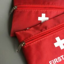 FIRST AID KIT POUCH PILL BAG EMERGENCY WORK TRAVEL HOLIDAY CAR EMPTY