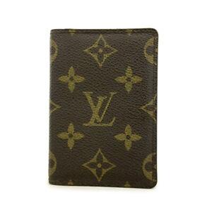 Louis Vuitton Monogram Organizer De Poche Card Case /A0294