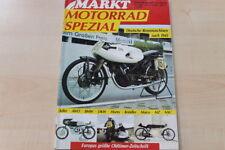 77593) Adler AWO BMW Horex Kreidler Maico Rennmaschinen - Markt Spezial 02/1989