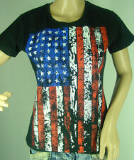 "T-shirt ""USA Bandiera Bandiera"" S M L XL XXL anche come Donna-Girli Shirt Nuovo"