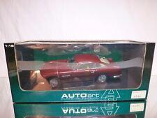 AUTOART 70025 ASTON MARTIN DB5 - RED MET. 1:18 - BOXED + TRANSPORT STRAPS CAR