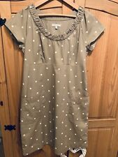 Ladies Joules Polka Dit Dress Size 12