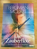 Filmposter * Kinoplakat * A1 * Die Zauberflöte * EA 1975 * Bergmann * Mozart