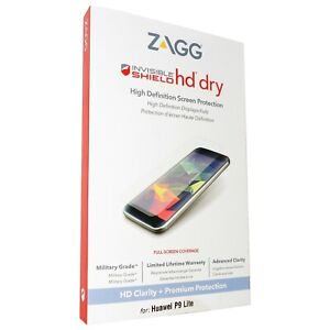 ZAGG Huawei P9 Lite InvisibleShield HD Dry Screen Protector.
