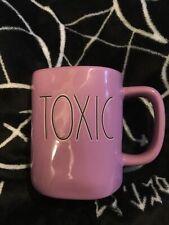 rae dunn halloween mug Purple Toxic Rare Brand New