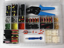 AMP Superseal Stecker 1- 6-polig Ausdrückwerkzeug Flachstecker + Crimpzange