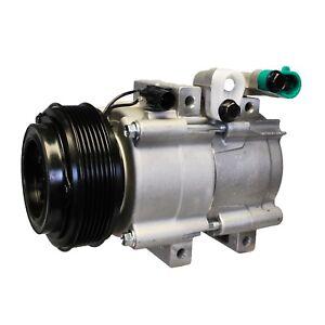 For Kia Sedona 3.5 V6 2002-2005 A/C Compressor and Clutch Denso 471-6013