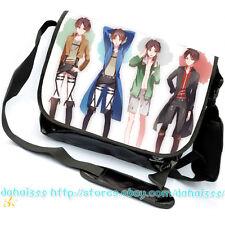 Anime Attack on Titan Satchel Casual Bag BL Cos Messenger Bag Yaoi fandom  #TY12