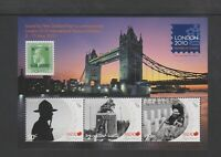 New Zealand - 2010, London 2010 Festival of Stamps sheet - MNH - SG MS3211