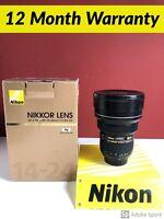 Nikon 14-24 mm F/2.8 ED AF-S G SWM N M/A Objektiv 1 Jahr Garantie!! + Gut