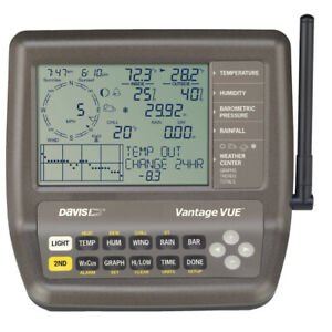 DAVIS VANTAGE VUE 2ND STATION CONSOLE/RECEIVER (without the manufactures box)