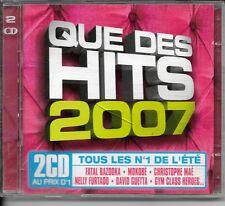 2 CD COMPIL 32 TITRES--HITS 2007--MOKOBE/MAE/GUETTA/FURTADO/BUBLE/SHANNA/AARON..