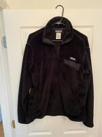 Patagonia Womens Re Tool Snap T Fleece Pullover Jacket XL Black Hiking