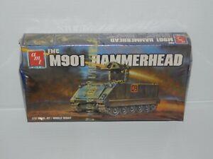 VINTAGE SEALED AMT M901 HAMMERHEAD TANK MODEL KIT 1/72