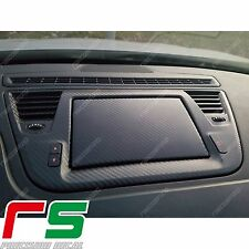 alfa giulietta ADESIVI cover radionav + monitor decal sticker carbonlook