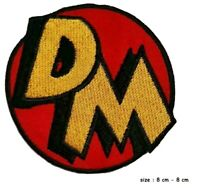 Danger Mouse Character Logo Iron on Sew on Embroidered Patch UK SELLER
