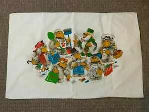 Vintage Marks & Spencer (St Michael) Wombles of Wimbledon Pillowcase 1970's