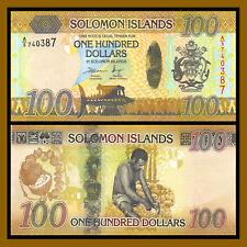 Solomon Islands 100 Dollars, 2015 P-36 Hybrid Unc