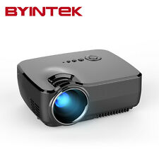 BYINTEK Best Home Theater GP70 LED 1080P Video HDMI LCD 5500lumens Projector