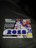 2018-19 SP Game Used Brett Howden Rookie Relic Blends Jersey Patches, #d to 125