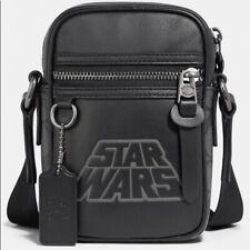 Coach Men's X Star Wars Terrain Crossbody Calf Leather Bag w/ Motif