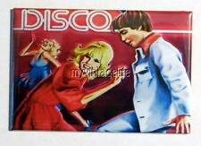 "Vintage DISCO Lunchbox 2"" x 3"" Fridge MAGNET Art"