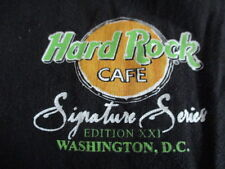 Bruce Springsteen Sig Series Xxi Hard Rock Cafe Washington D.C. (Lg) T-Shirt
