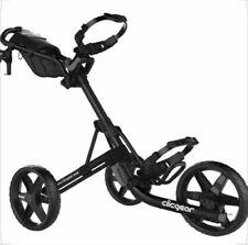 New Clicgear USA Model 4.0 Push-Pull Golf Cart for walking - Black Clic Gear