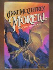 MORETA: DRAGONLADY OF PERN by Anne McCaffrey HBDJ  1983 First Printing Edition