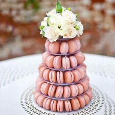 6 Tier Macaron Tower Cake Stand Macaron Display Rack for Wedding Birthday 10