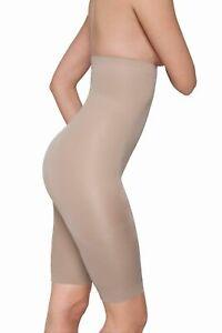 *CLEARANCE* Skin Wrap High Waist Panty with legs Size L ~BNIP~ CREAM 64821