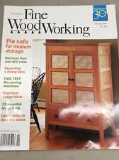 Taunton Fine Wood Working Magazine Vintage February 2006 Building DIY Pie Case