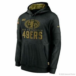Men's Nike NFL San Francisco 49ers Salute to Service Hoodie [NKDY-00A/Sizes]