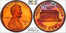 1990-S PCGS PR68 DCAM Lincoln Cent RicksCafeAmerican.com