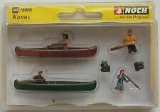 Noch Canoers and Accessories 16808 (HO Scale suit OO also)