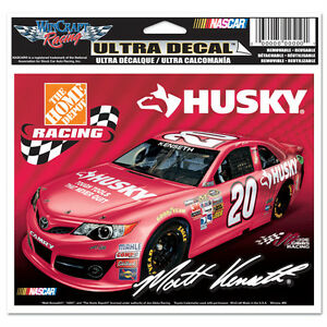 "MATT KENSETH #20 HUSKY TOOLS TOYOTA RACING 2013 NASCAR  6"" X 4"" ULTRA DECAL"