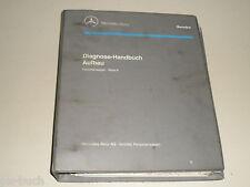 Werkstatthandbuch Diagnose elektrische Spiegel-/Lenksäulenverstellung Mercedes
