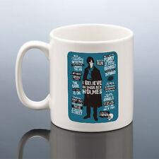 SHERLOCK MUG BELIEVE IN SHERLOCK HOLMES Cup Cumberbatch Birthday Gift Him Her