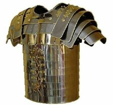 ROMAN LORICA SEGMENTATA ARMOR - BRASS TRIMMED MEDIAVAL ARMOUR collectibles