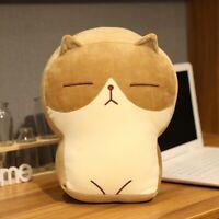Fat Brown Cat Plush / Cute Cat Plush / Cat Stuffed Animal Plush / Cat Plush Toy