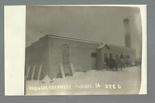 Thorpe IOWA RP c1910 CREAMERY nr Strawberry Point Manchester Delaware GHOST TOWN